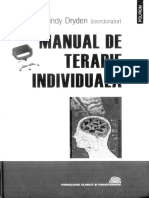 Windy Dryden - Manual de Terapie Individuala