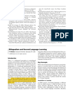 Bilingualism and Second Language Learning-1