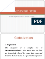Chapter 1; Andrew Heywood Globalization