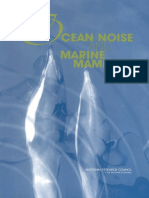 Ocean Noise and Marine Mammals