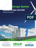 ISGF Report Energy Storage System RoadmapforIndia 2019to2032 11July2019 Draft