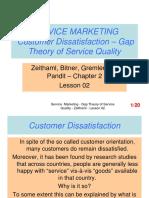 Service Marketing - Lesson 02 - Gap Theory - Modified 13.05.2019 (1)