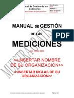 Muestra Manual de Gestión de las Mediciones ISO 10012.docx