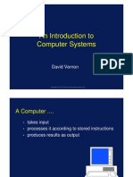 David Vernon Introduction to Computer Systems