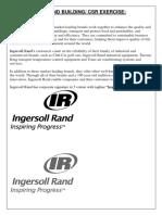 Ingersoll Rand Assignment
