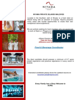 Job Maldives 14 October 2019