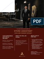 Store Assistant