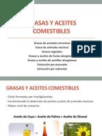 Química de Grasas y Aceites