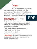 fichier de Centre dappel sous forme word.docx