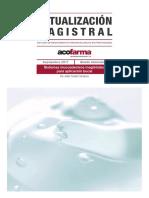 Fomulacion magistral . Adhesivos orales