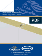 Manual de Instalação Painel Sala Limpa