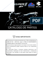 CATALOGO DE PARTES PULSAR