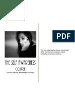 The Self-Awareness Course Open Registrat