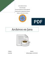 Archivos en Java_anthony Ospina