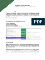 Informe de Análisis Financiero