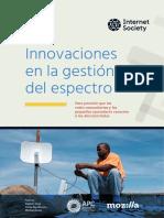 InnovationsinSpectrumManagement March2019 ES