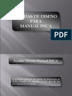 Ayudas Diseño IMCA 28-7-15