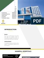 Manipal Hospitals - Case Study