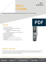 Ch3000 At3552 Series Analog Externally Modulated Full Spectrum Transmitter Data Sheet