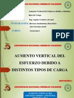 Grupo 11 - Aumento Vertical Del Esfuerzo Debido a Distintos Tipos de Carga