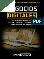 Pasos para emprender negocios digitales