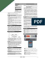 XH260L-V Pt-BR - Manual Controlador