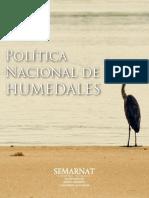 POLITICA NACIONAL DE HUMEDALES_SEMARNAT.pdf