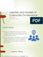 Lesson 3 Theories and Models of Corporate Governance