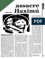 SANTOS o Massacre de Haximu