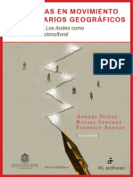 Andrés Núñez, Rafael Sánchez y Federico Arenas (eds.) - Fronteras en movimiento e imaginarios geográficos - La cordillera de Los Andes como espacialidad sociocultural