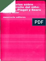Maier, Henry - Tres teorías sobre el desarrollo del niño, Erikson, Piaget y Sears.pdf