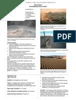 Dust Bowl Investigating Wind Erosion