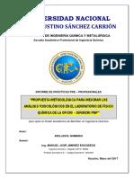 Caratula &.Estructura InformePpP-FIQyM UNJFSC