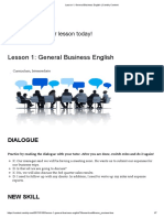 Lesson 1_ General Business English _ Cambly Content