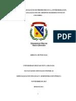 Importancia de Los Bancos de Primer Piso en La Intermediacion, Otorgamiento y Legalizacion de Creditos de Redescuento en Colombia.