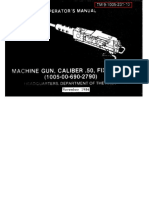 ARMY  50 Cal Machinegun Maint  & Op  1984  112 pages