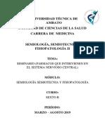 SEMINARIO FARMACOS SNC