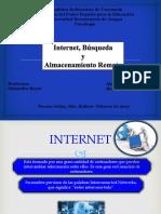 Internet, Búsqueda y Almacenamiento Remoto INF