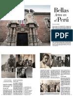 Escuela de Bellas Artes en revista Prestigia