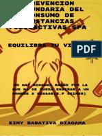 Guia de Atencion Psicosocial Equilibra Tu Vida en La Prevencion Del Consumo de Sustancias Psicoactivas Instituto Penitenciaro y Carcelario Inpec Libano Tolima