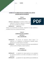 Normativo Admon. Academica CUNOC