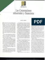 corporaciones industriales y financieras