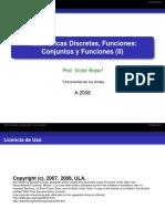 Conjunto y Funciones M D