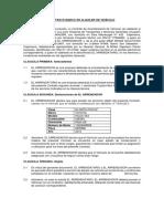 Contrato Arrendamiento de Vehículo Transportes Chuquilin