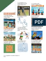 Reglas Del Voleibol Con Medidas de La Cancha