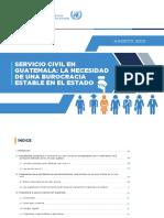 Cicig 2019 Informe Servicio Civil