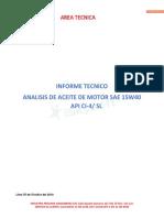 Informe Tecnico Ci-4-Sl 15w40 Octubre 2019-5-9