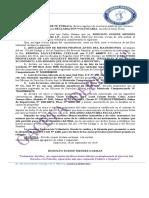 delcaracin jurada modelo