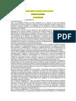 Decreto Supremo que aprueba la Política de Seguridad y Defensa Nacional
