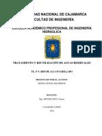 Informe Red de Alcantarillado